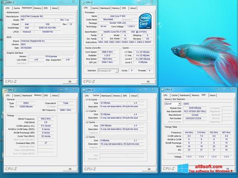 Screenshot CPU-Z Windows 8