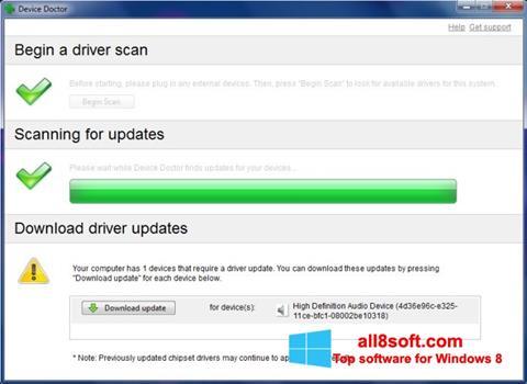 Screenshot Device Doctor Windows 8