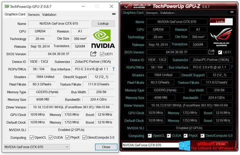 Screenshot GPU-Z Windows 8