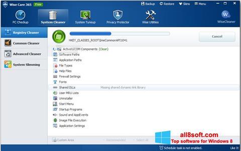 Screenshot Wise Care 365 Windows 8