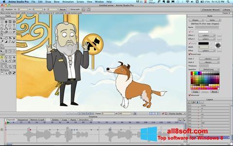 Screenshot Anime Studio Windows 8
