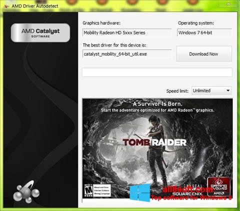 Screenshot AMD Driver Autodetect Windows 8