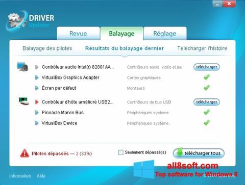 Screenshot Carambis Driver Updater Windows 8
