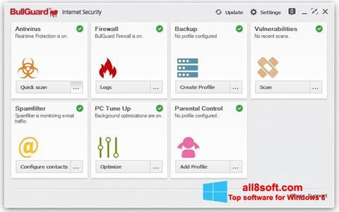 Screenshot BullGuard Windows 8