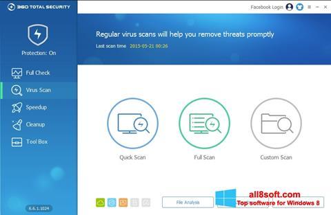 Screenshot 360 Total Security Windows 8