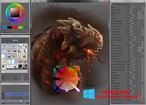Screenshot MyPaint Windows 8
