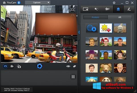 Screenshot CyberLink YouCam Windows 8