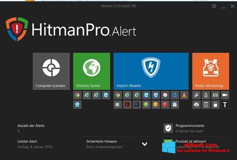 Screenshot HitmanPro Windows 8