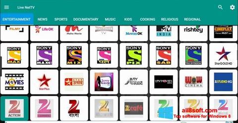 Screenshot Net TV Windows 8