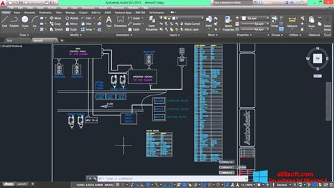 Screenshot AutoCAD Electrical Windows 8