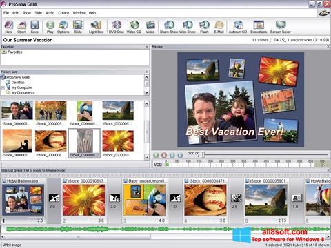 Screenshot ProShow Gold Windows 8