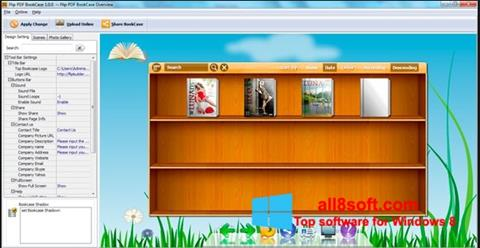 Screenshot Bookshelf Windows 8