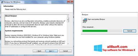 Screenshot Bonjour Windows 8