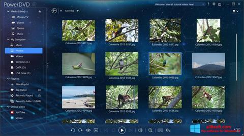 Screenshot PowerDVD Windows 8