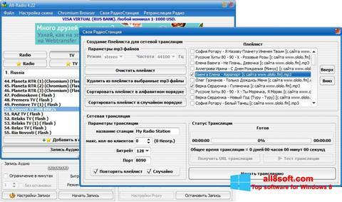 Screenshot All-Radio Windows 8