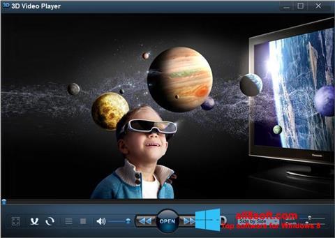 Screenshot 3D Video Player Windows 8