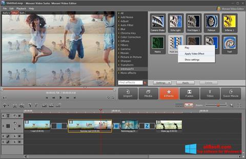 Screenshot Movavi Video Suite Windows 8