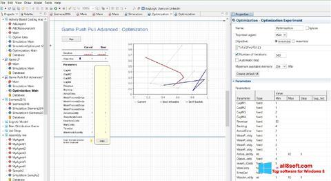 Screenshot AnyLogic Windows 8