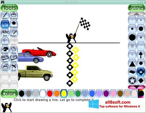 Screenshot Tux Paint Windows 8