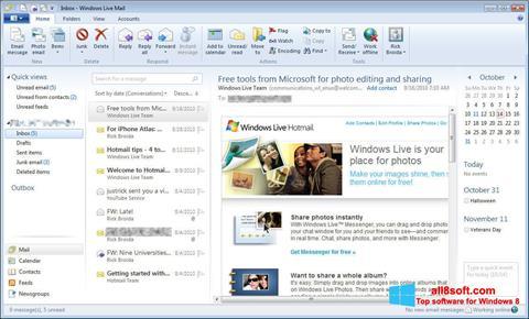 Screenshot Windows Live Mail Windows 8