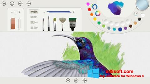 Screenshot Fresh Paint Windows 8