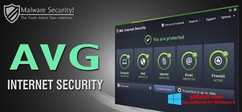 Screenshot AVG Internet Security Windows 8