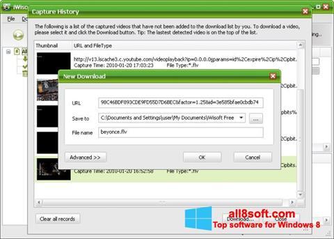 Screenshot Free Video Catcher Windows 8