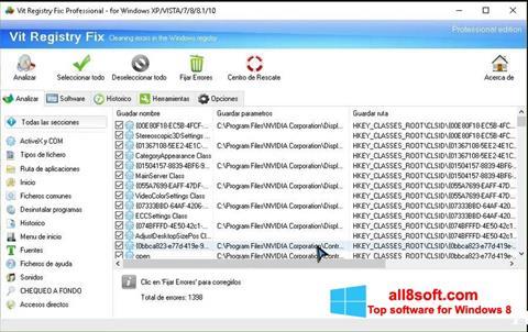 Screenshot Vit Registry Fix Windows 8