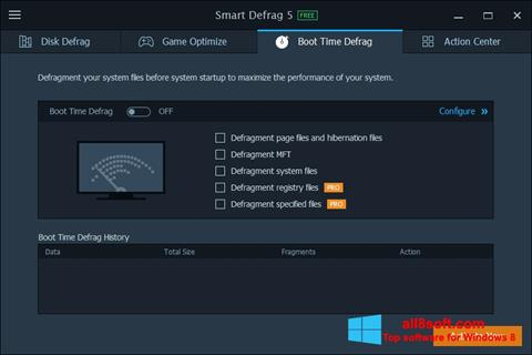 Screenshot Smart Defrag Windows 8