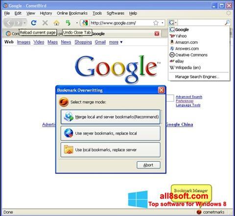 Screenshot CometBird Windows 8