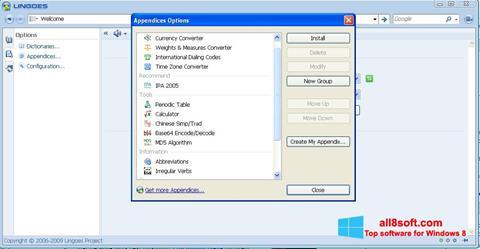 Screenshot Lingoes Windows 8