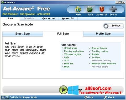 Screenshot Ad-Aware Free Windows 8