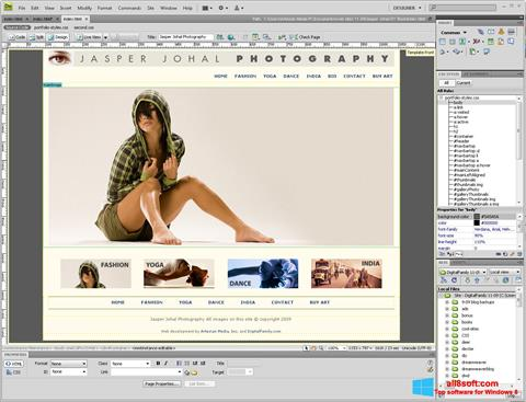 Screenshot Adobe Dreamweaver Windows 8