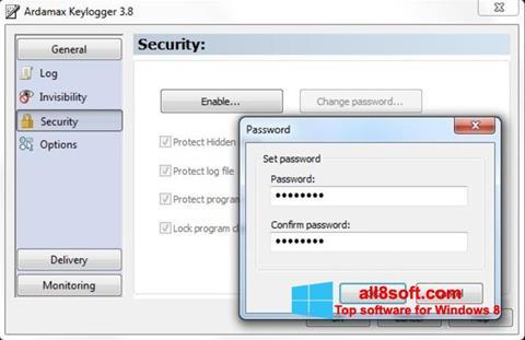 Screenshot Ardamax Keylogger Windows 8