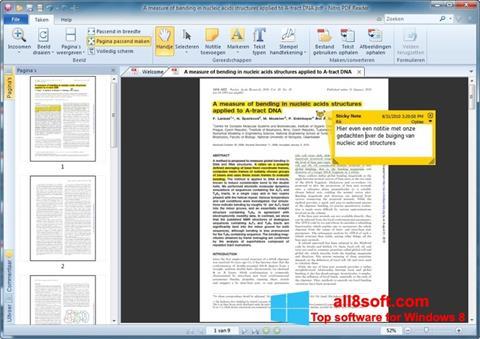 Screenshot Nitro PDF Reader Windows 8