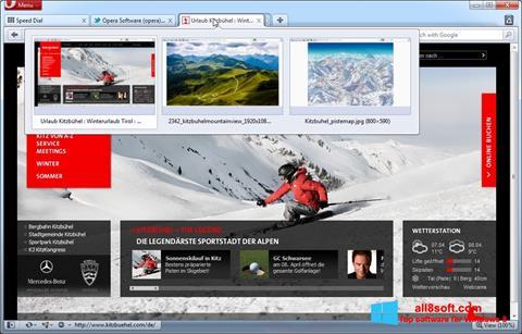 Screenshot Opera Windows 8