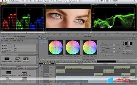 Screenshot Avid Media Composer Windows 8