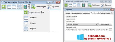 Screenshot Free Screen Video Recorder Windows 8