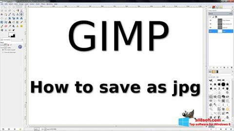 Screenshot GIMP Windows 8