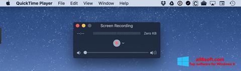Screenshot QuickTime Windows 8