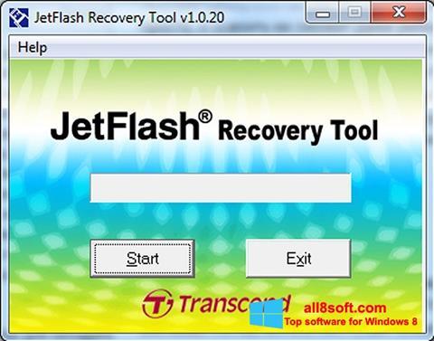 Screenshot JetFlash Recovery Tool Windows 8