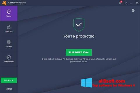 Screenshot Avast! Pro Antivirus Windows 8