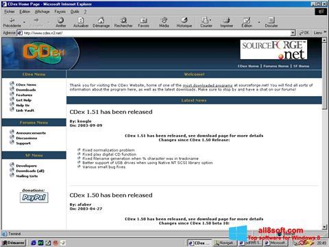 Screenshot CDex Windows 8