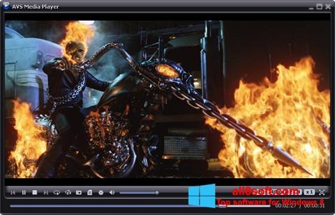 Screenshot AVS Media Player Windows 8