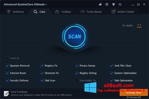 Screenshot Advanced SystemCare Ultimate Windows 8