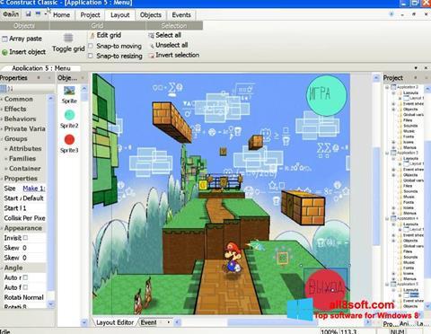 Screenshot Construct Classic Windows 8