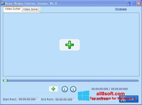Screenshot Free Video Cutter Windows 8