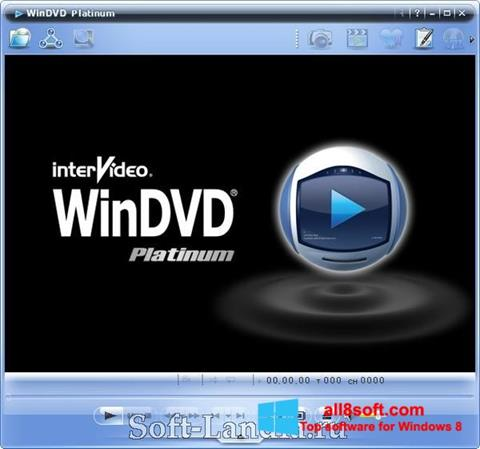 Screenshot WinDVD Windows 8
