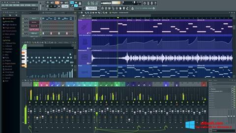 Screenshot FL Studio Windows 8