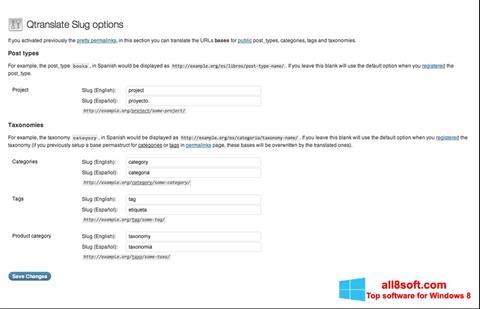 Screenshot QTranslate Windows 8
